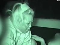 カーセックスを盗撮されたヤンキーカップルの生々しさがエロい