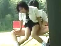 青姦スポットにJKの彼女を連れ込んで青春を堪能する学生