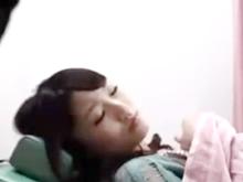 今風の可愛い若妻が産婦人科で眠らされて中出しレイプ