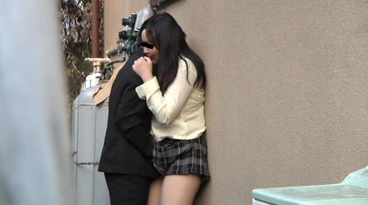 高校生カップルの野外セックス盗撮…4